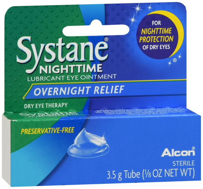 Systane Nighttime Ointment 3.5Gm