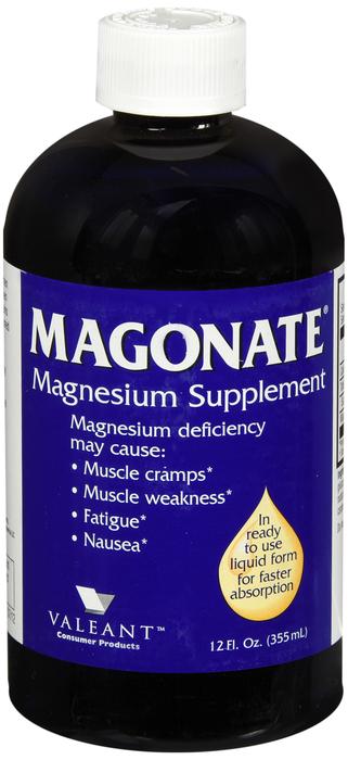 Magonate Liquid 12 oz by Valeant Pharma