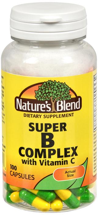Super B W/C Capsule 100 Count Nature's Blend
