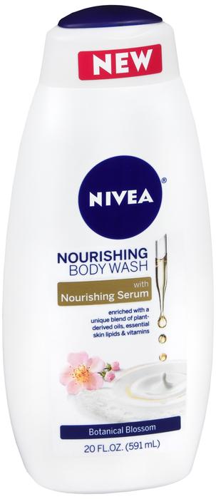 Nivea Botanical Blossom Body Wash Liquid 20 Oz