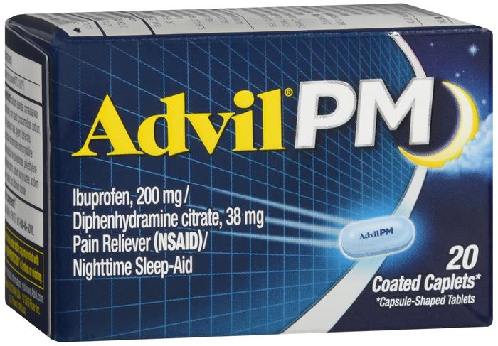 Advil PM 200Mg-38mg Tab 20 By Pfizer Pharma Item No.:OTC536180 NDC No.: 00573-0164-20 00573-164-20 0057316420 00573016420 UPC No.: 3-05730-16420-7 305730-164207 305730164207 Item Description: Nighttim