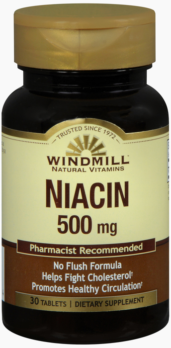 Windmill Niacin No 30 By Windmill Health Products Item No.:4165819 NDC No.: UPC No.: 035046003364 Item Description: Vitamin B & Vitamin B Complex Other Name: Windmill Niacin No Therapeutic Code: Ther