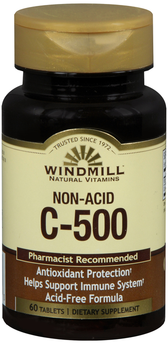 Windmill Vit C Non A 60 By Windmill Health Products Item No.:4165535 NDVit C No.: UPVit C No.: 035046001810 Item Description: Vitamin Vit C Other Name:Windmill Vit C Non A Therapeutic Code: Therapeuti