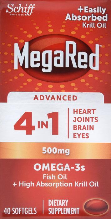 '.Megared ADV OMEGA 500MG 4 IN 1.'