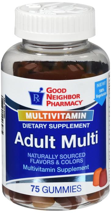 GNP Adult Multivitamin Assorted Gummy 75 Ct