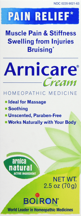 Free Shipping-Arnicacare Cream- 2.5 oz By Boiron