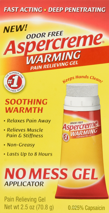 Aspercreme 10 % Gel 2.5 oz