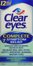 '.CLEAR EYES 0.025-0.2% DRP .5OZ by MEDTEC.'