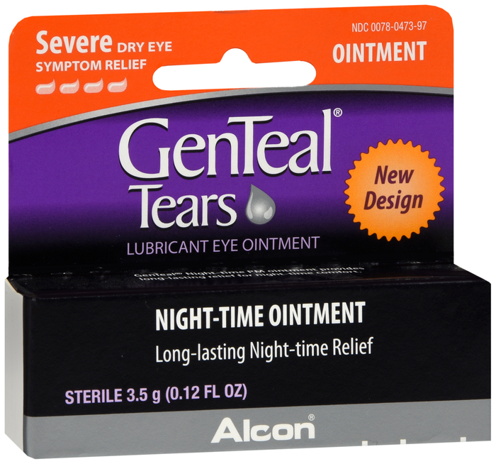 Genteal Opthalmic Ointment 3. 5gm By Alcon Lab