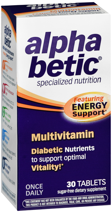 Alpha Betic MULTIVITAMIN 30 By Schwabe North America  Supplier