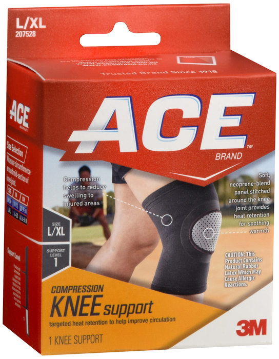 Ace Knee Suppot Lg/XLg