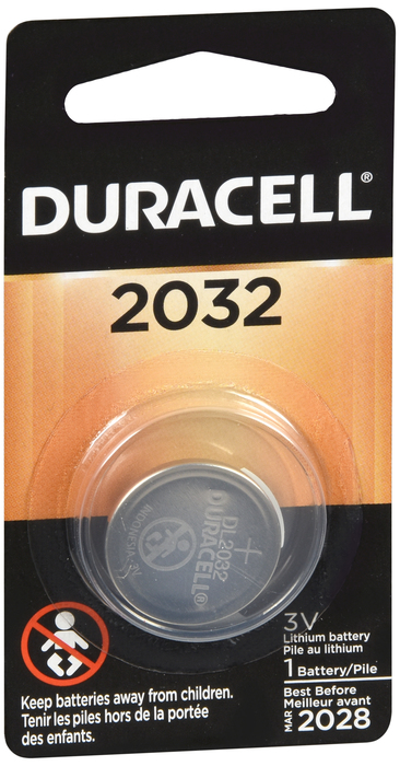 Duracell Coin Button Battery Lm2032 1Ct 4133366180