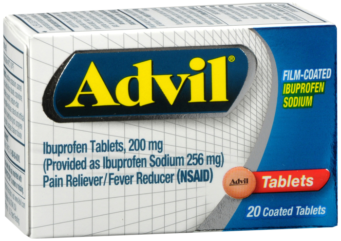 Advil Film Coated Tablet 20 Count By Pfizer Pharma Item No.:OTC220970 NDC No.: UPC No.: 3-05730-13320-3 305730-133203 305730133203 Item Description: Ibuprofen&Other Anti-Inflamito Other Name:Advil Fil