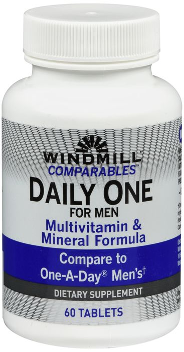 Windmill Daily Vits 60 By Windmill Health Products Item No.:4558371 NDC No.: UPC No.: 035046000776 Item Description: Multivitamins Other Name: Windmill Daily Vits Therapeutic Code: Therapeutic Class: